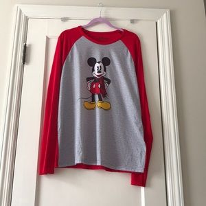 Disney Mickey Mouse Henley